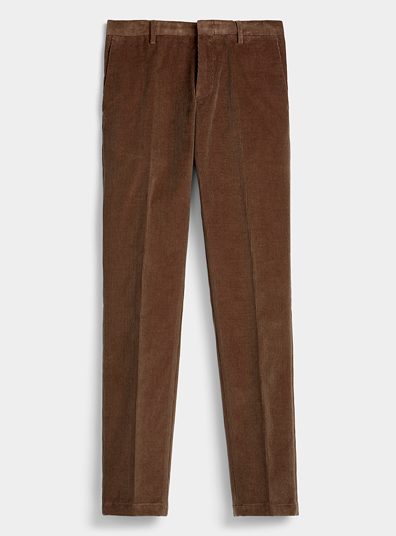 Paul Smith Brown Corduroy pant for men