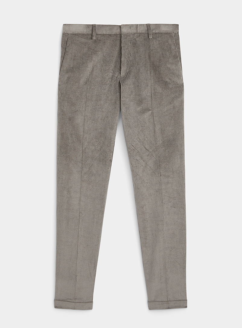Paul Smith Green Touch-of-cashmere corduroy pant for men
