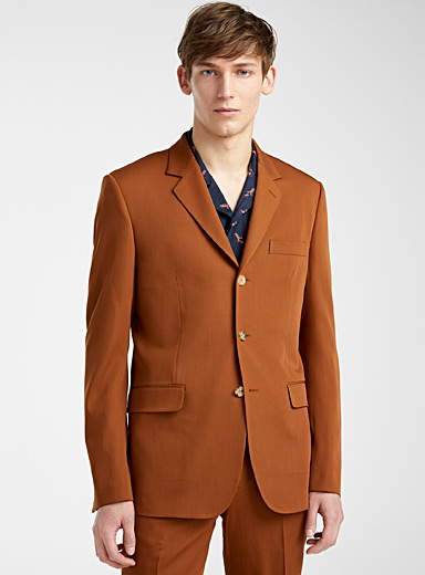 Paul Smith Copper Rust three-button jacket for men