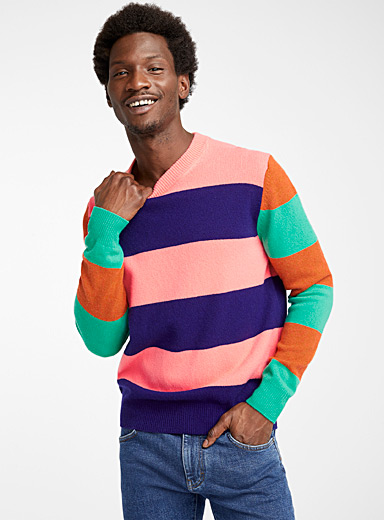 Paul Smith: Le pull Bold Stripe Assorti pour homme