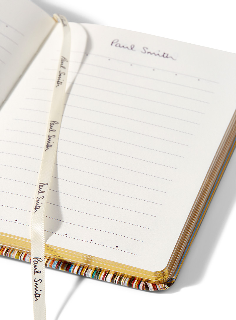 Paul Smith Assorted Signature-stripe notebook for men