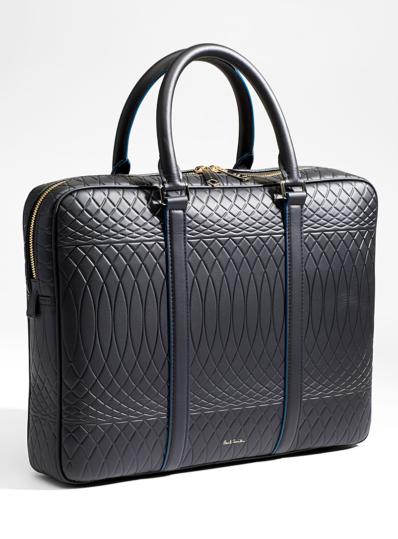 Textured briefcase - Paul Smith - Black