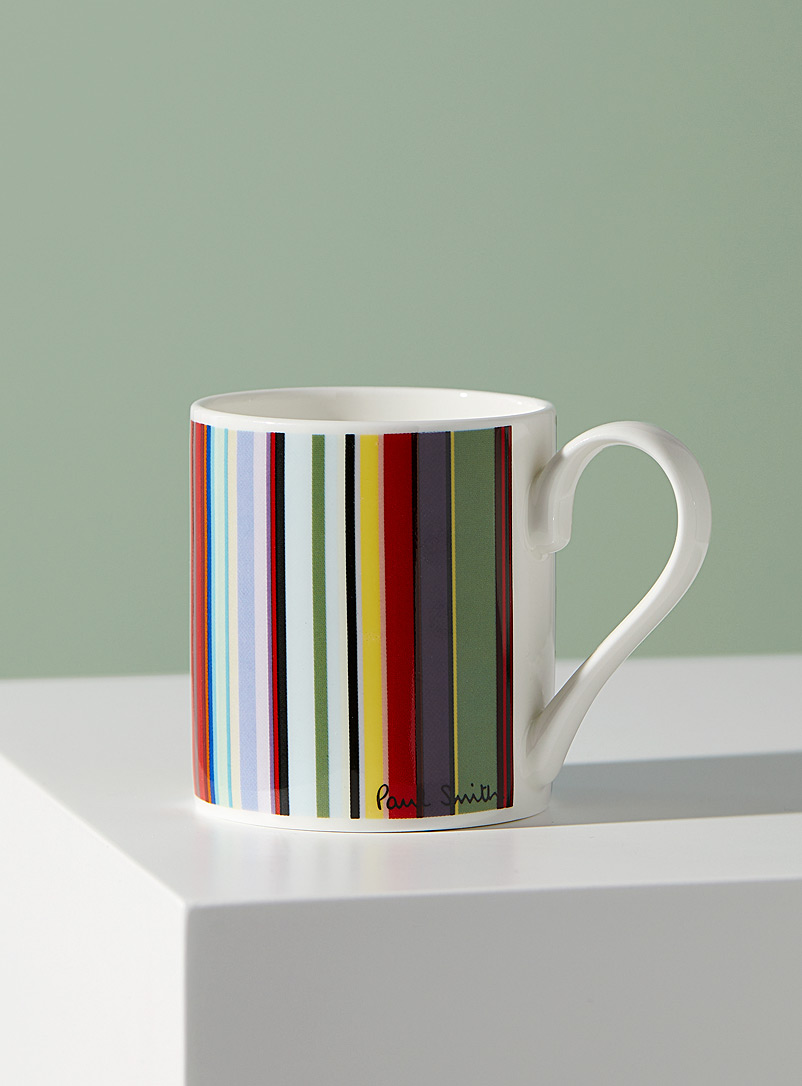 Paul Smith Assorted Bone China illustrated mug for men