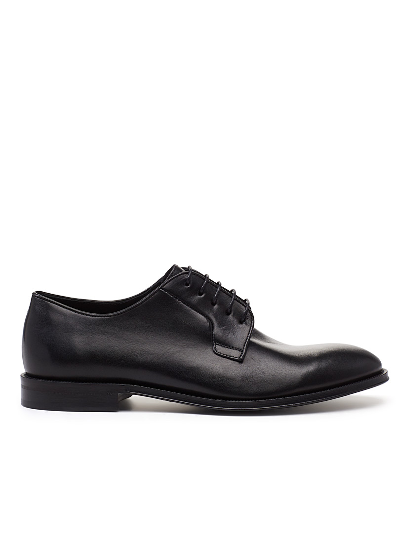 Paul Smith Black Chester derby shoes for men