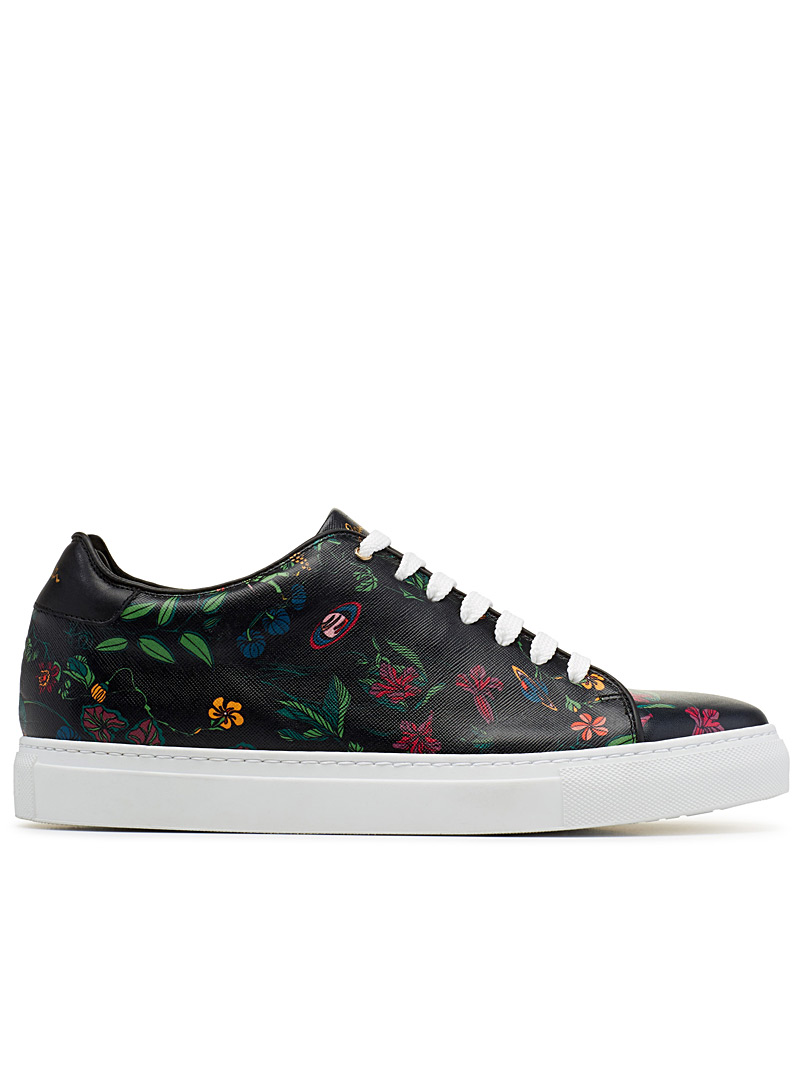 Basso sneakers - Paul Smith - Patterned Black