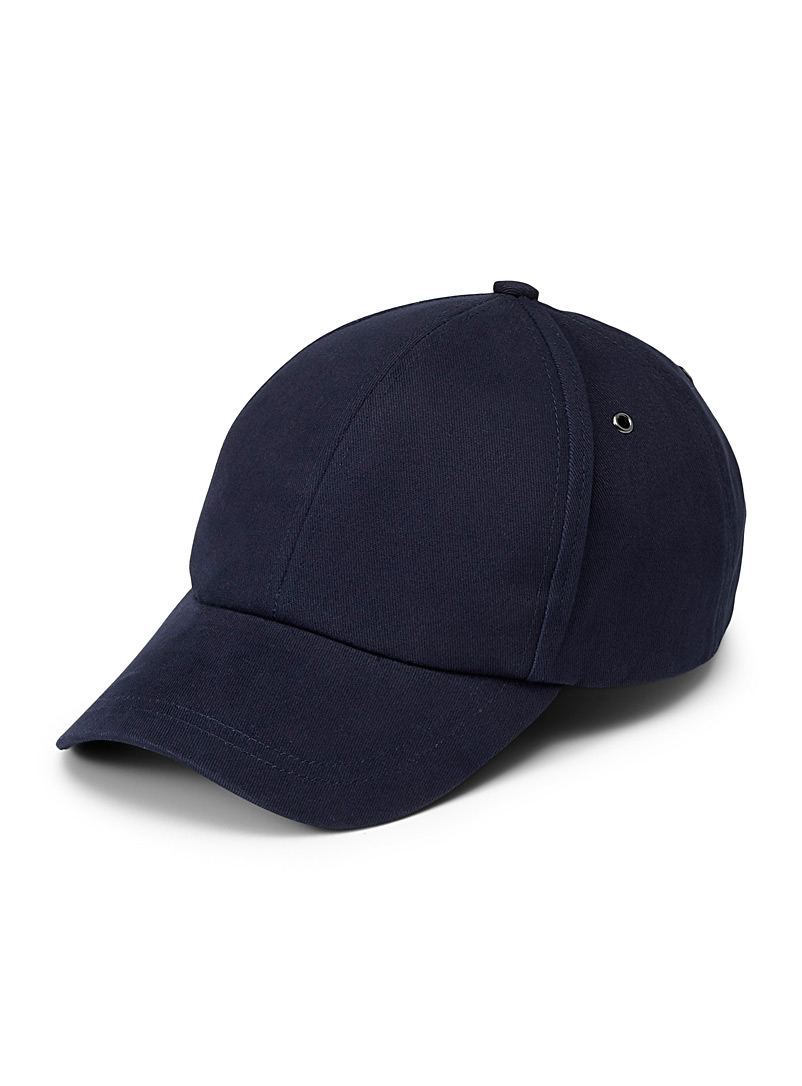 Paul Smith Blue Signature stripe navy cap for men