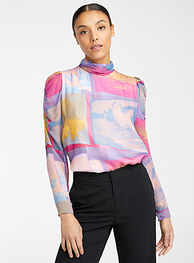 PS Paul Smith Assorted Space Photos top for women