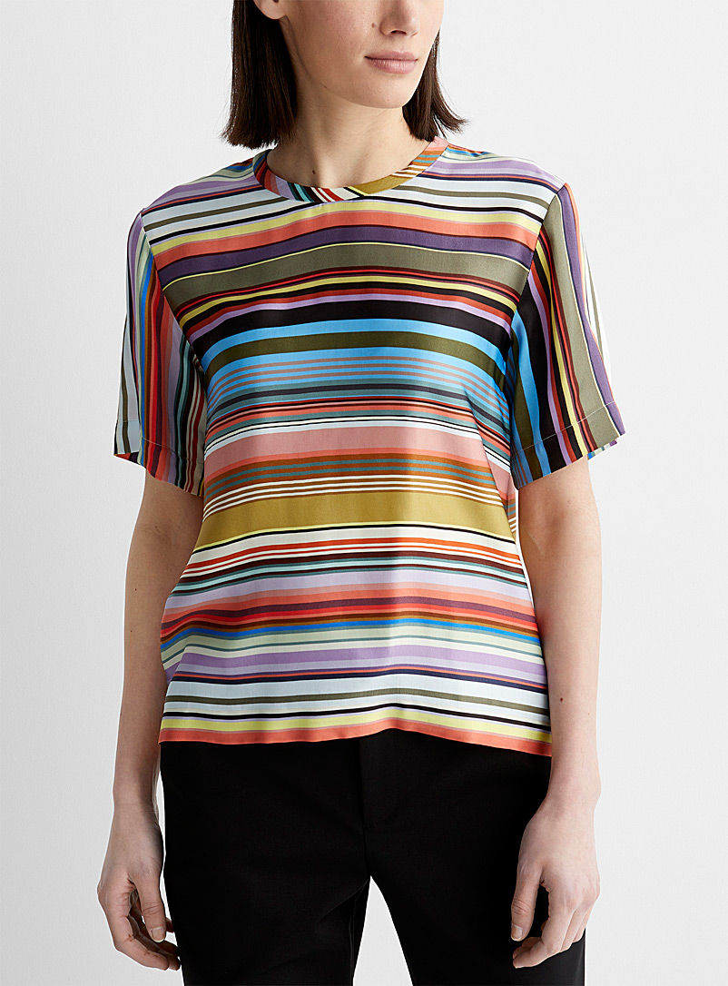 PS Paul Smith: La blouse super rayures Assorti pour femme