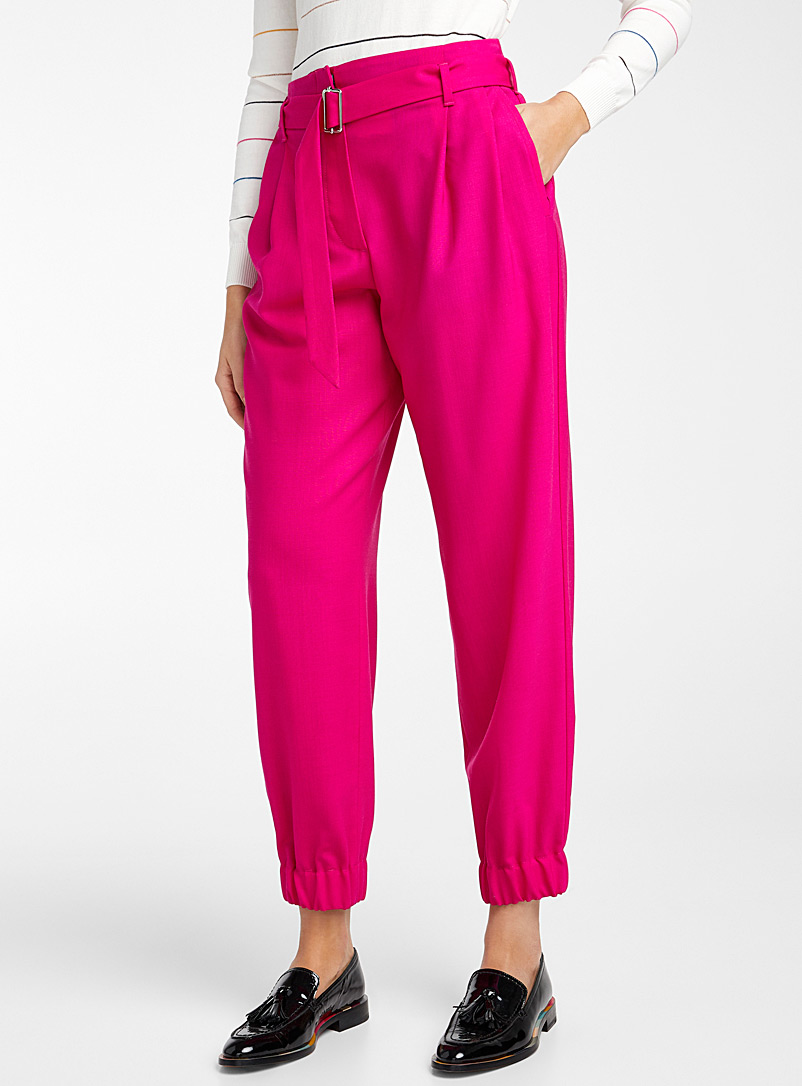 PS Paul Smith Cherry Red Fuchsia pant for women
