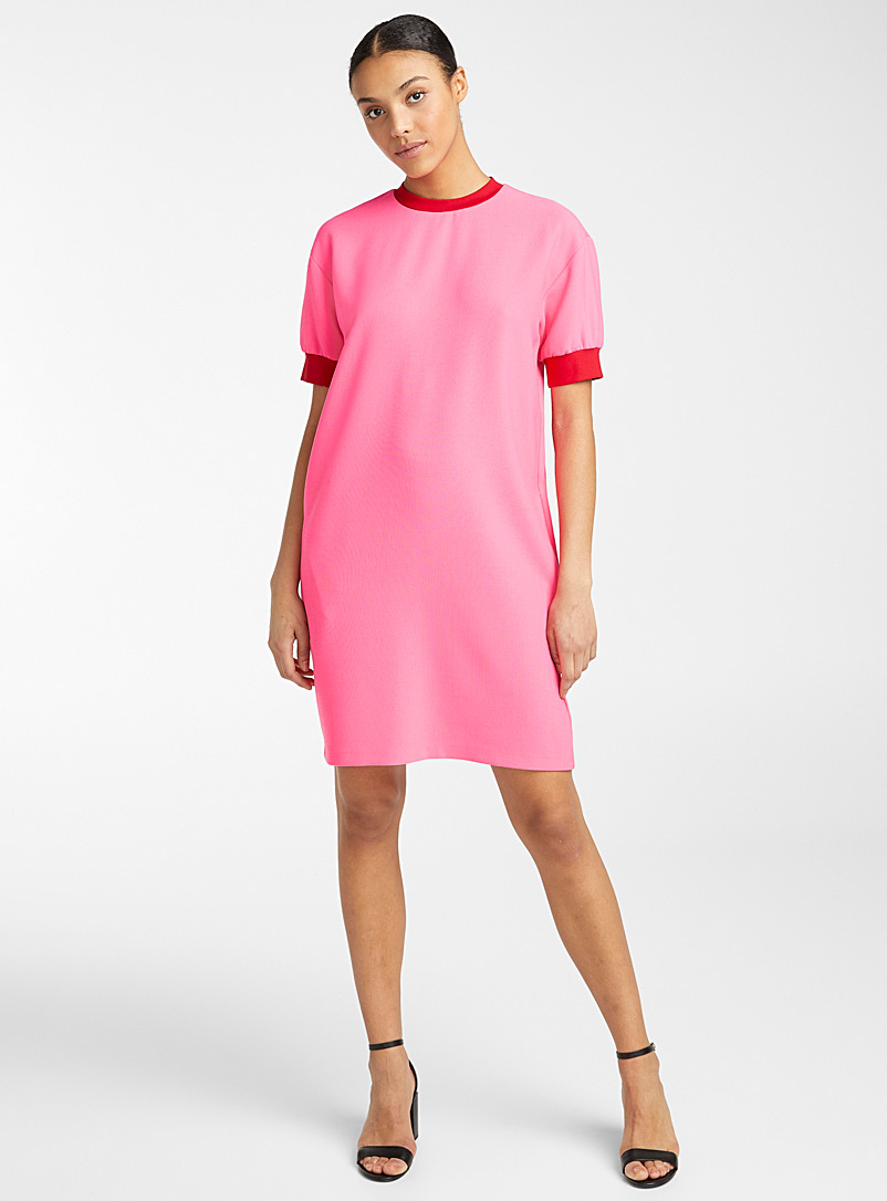 PS Paul Smith Medium Pink Bright sweatshirt dress for women