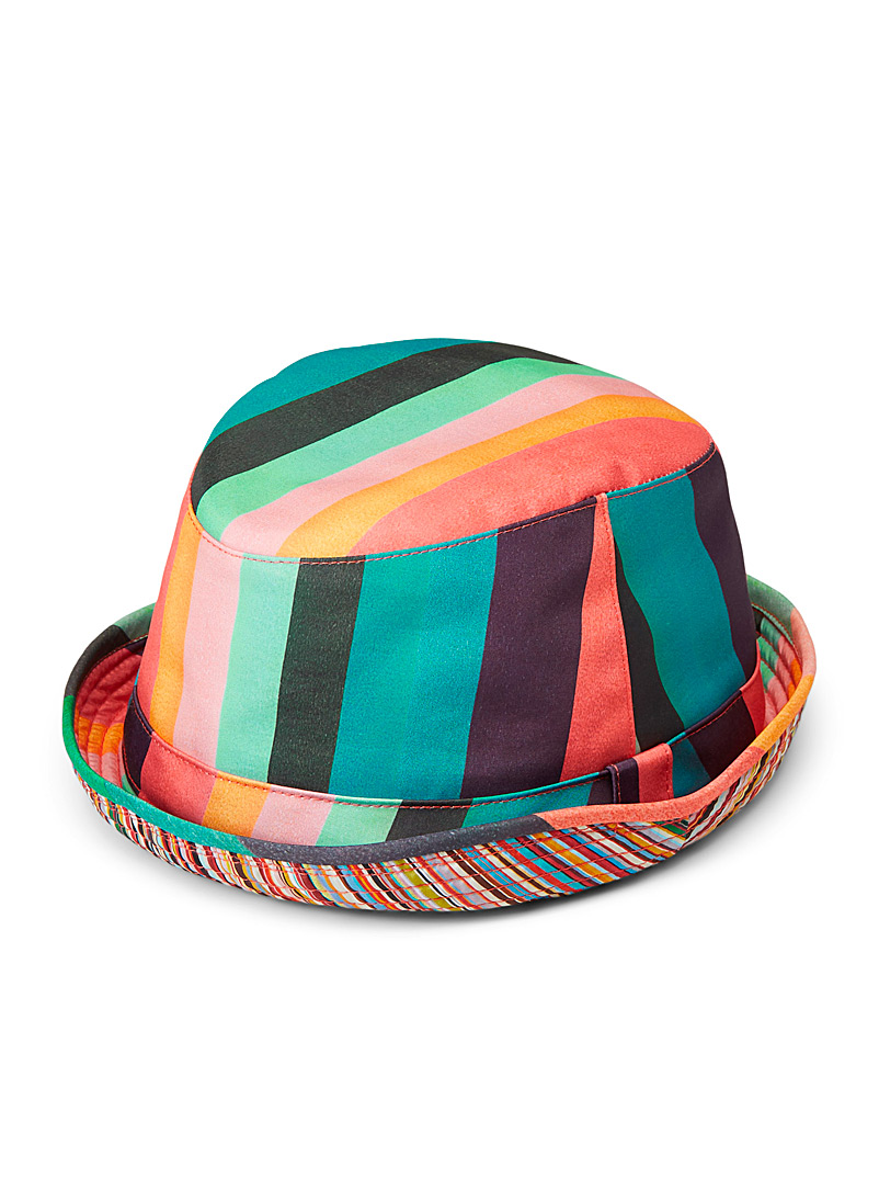 Paul Smith Assorted Artist stripe bucket hat for men