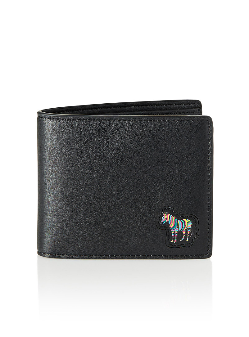 Le portefeuille Zebra - PS Paul Smith - Noir