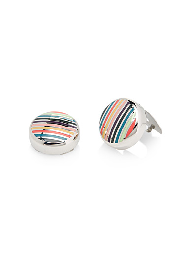 Faux-cufflink button covers