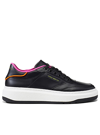 Paul Smith: Le sneaker Hackney Noir pour femme