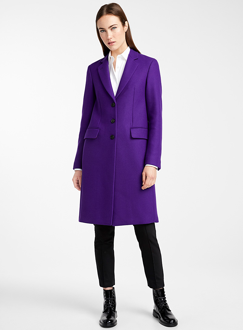 unparalleled limited price new selection Epsom purple coat