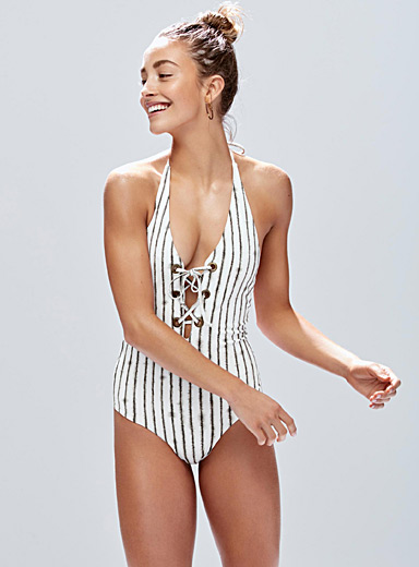 Nomadic Spirit laced one-piece