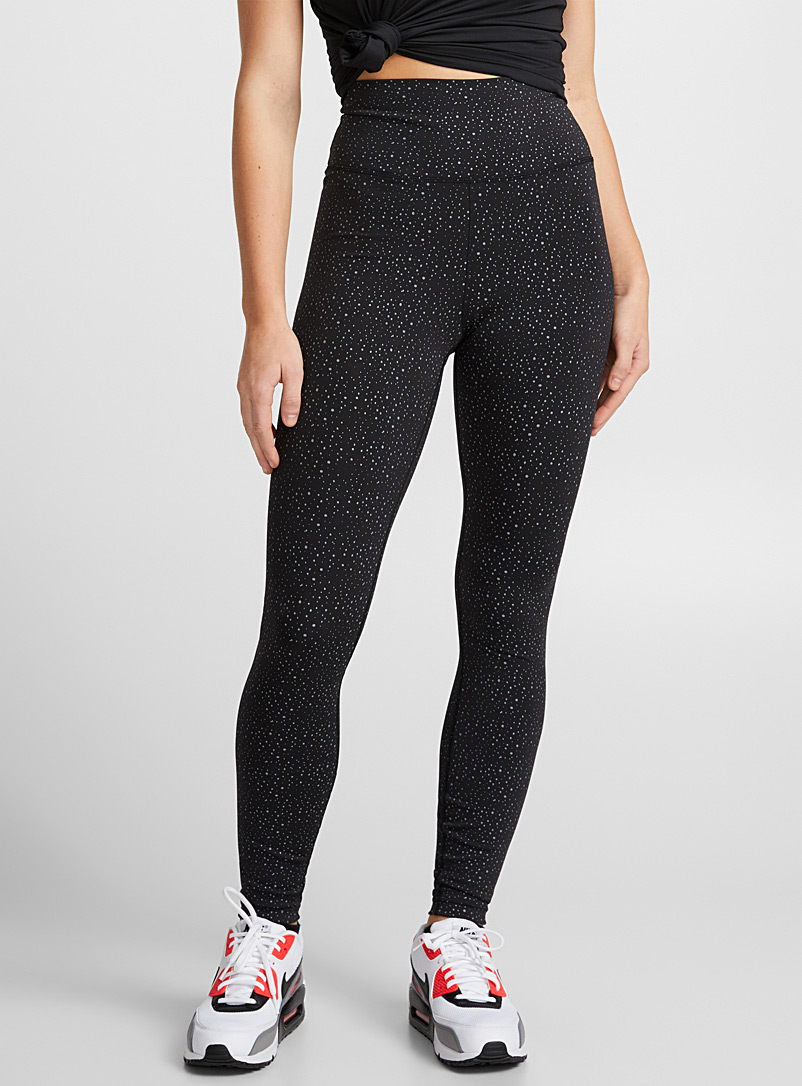 Essential ergonomic legging - Leggings - Patterned Black