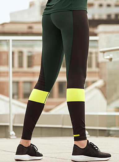 Colour block legging