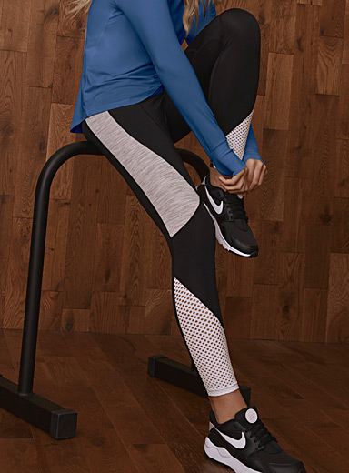 Three-tone laser legging