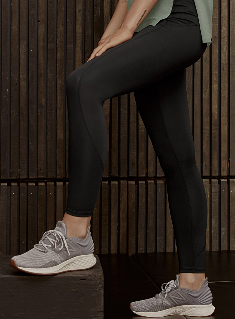 I.FIV5 Black Sierra 7/8 legging for women