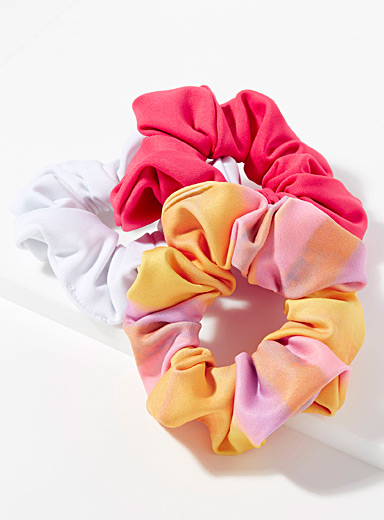 Second life scrunchie  Set of 3