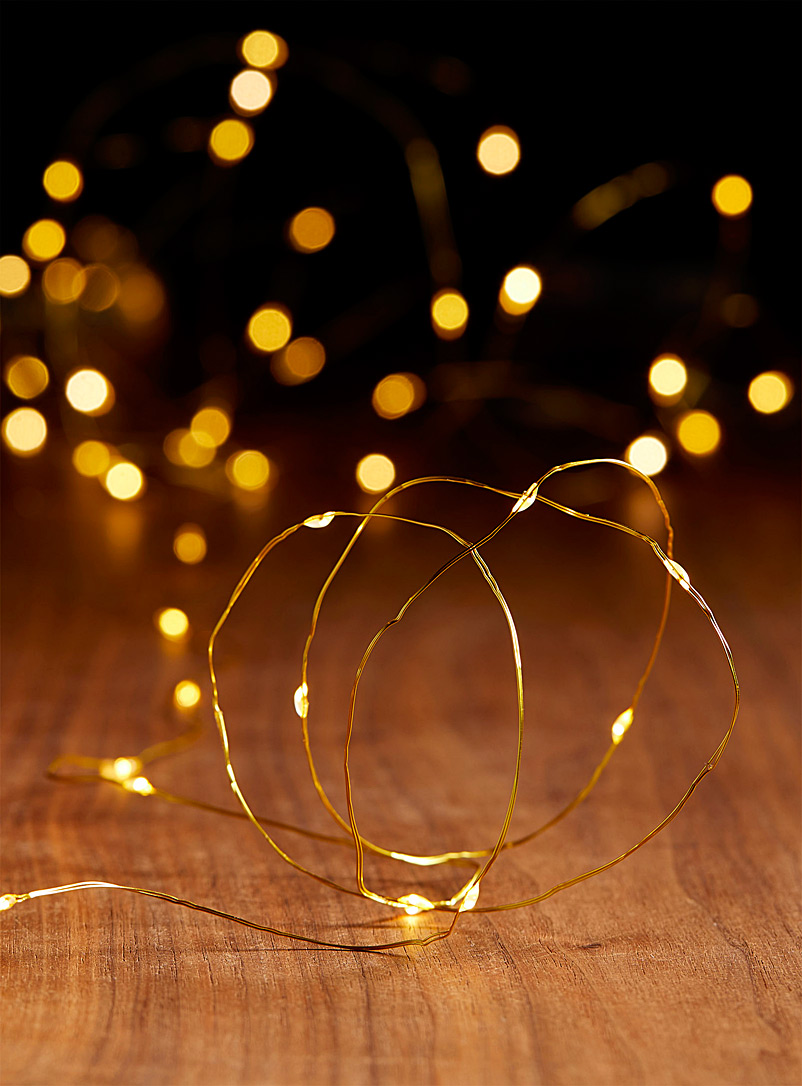 36-bulb LED string lights