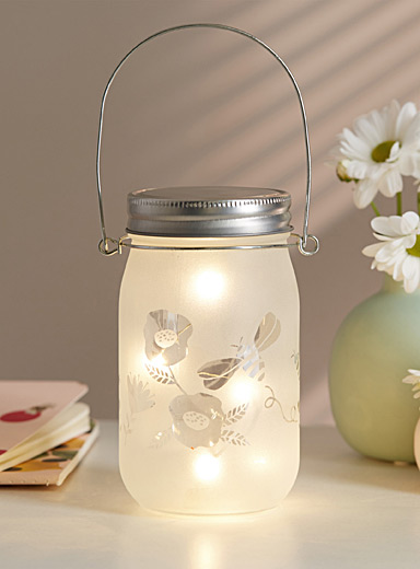 Foraging jar lantern