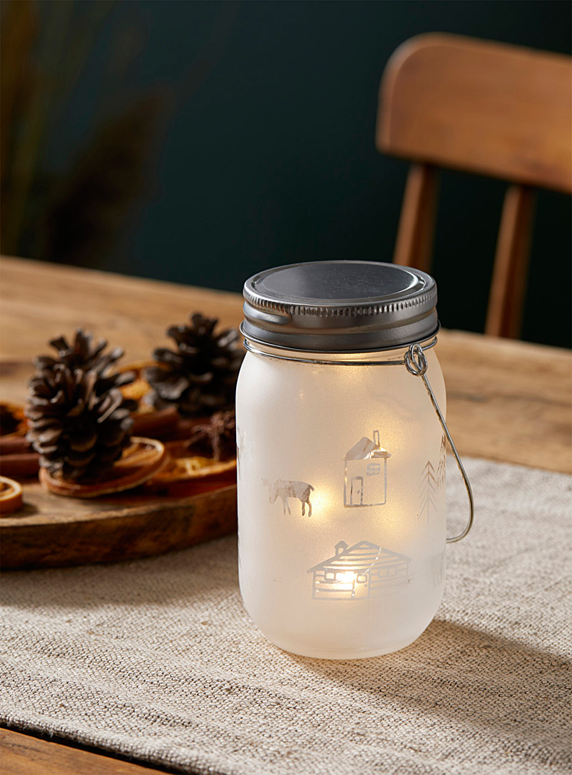 Simons Maison Assorted Peaceful cottage jar lantern
