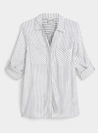 Graphic patterned shirt