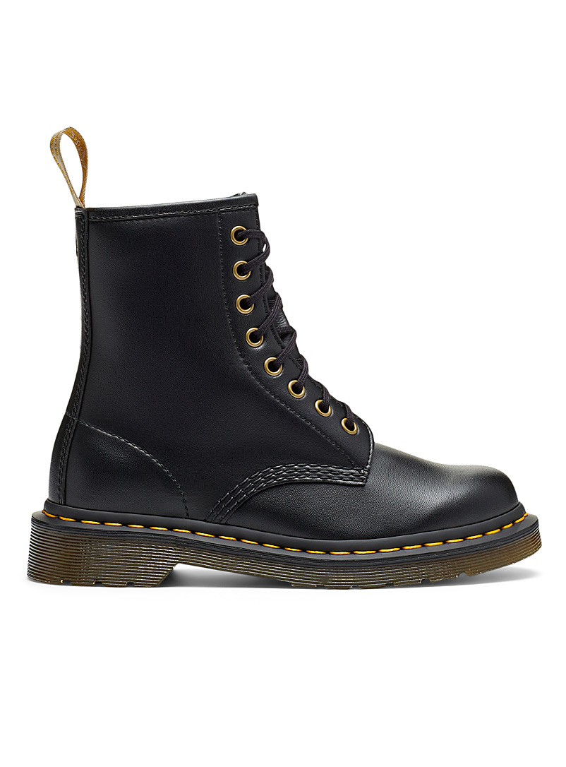 Dr. Martens Black 1460 vegan lace-up boots for women