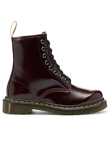 Dr. Martens Ruby Red 1460 vegan lace-up boots for women