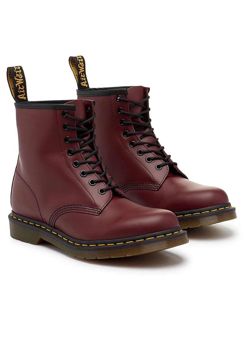 1460 original boots  Men - Boots - Cherry Red