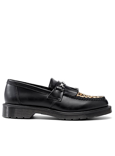 Adrian leopard loafers <br>Men