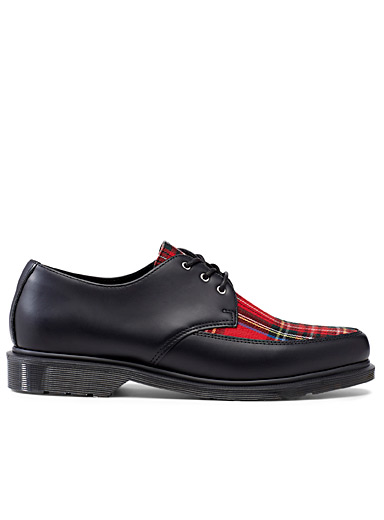 Willis tartan derby shoes