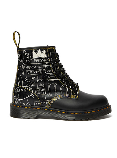 Dr. Martens Black Basquiat 1460 boots  Men for men