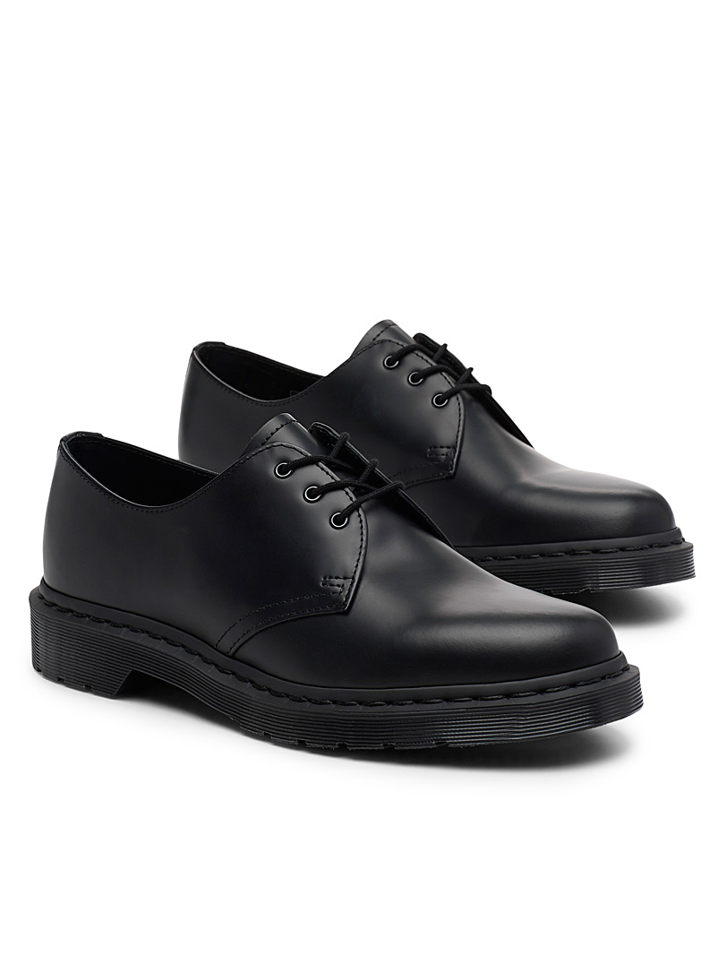 Dr. Martens Black Mono 1461 derby shoes  Men for men
