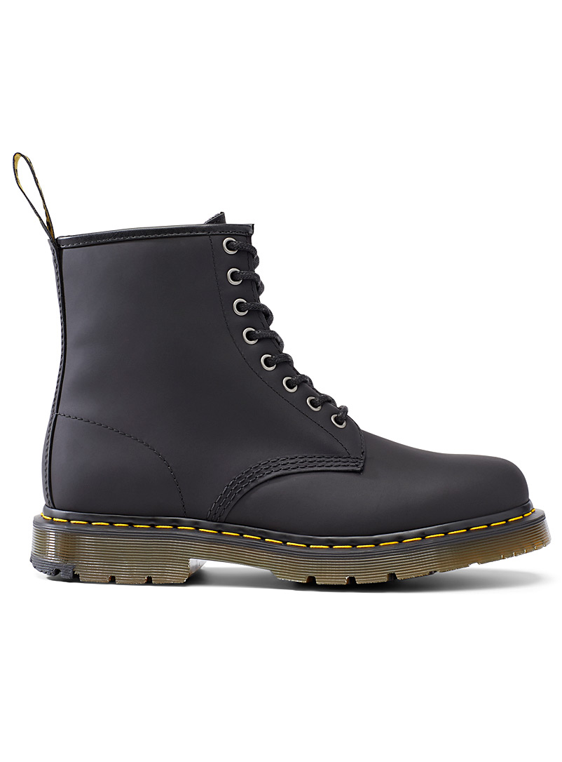 Dr. Martens Black 1460 Snowplow boots Men for men