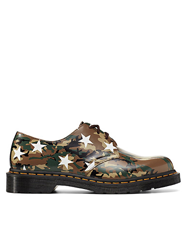 Camo SOPHNET. x END. 1461 derby shoes Men