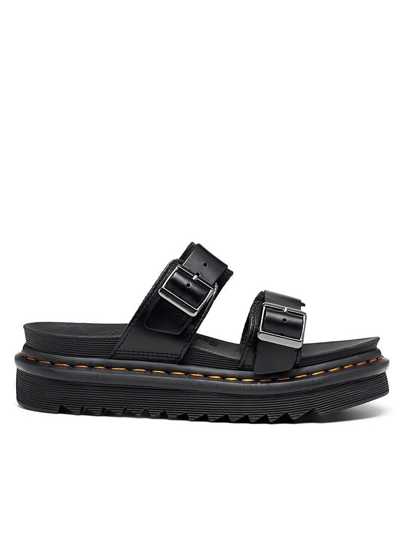 Dr. Martens Black Myles slides Women for women