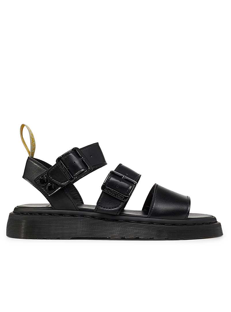 Dr. Martens Black Gryphon vegan gladiator sandals Women for women