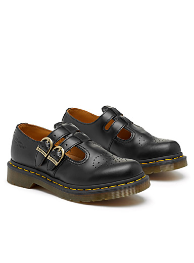 Dr. Martens Black 8065 Mary Jane shoes for women
