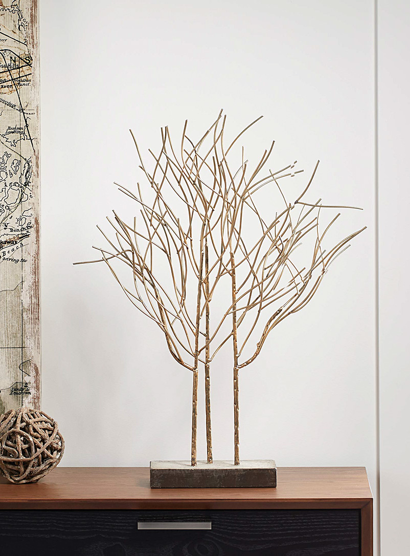 Torre & Tagus Assorted Urban metallic decorative tree