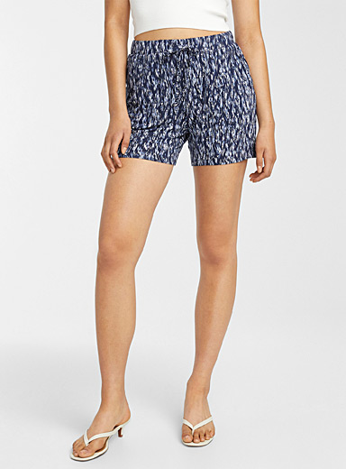 Eco-friendly viscose jersey short