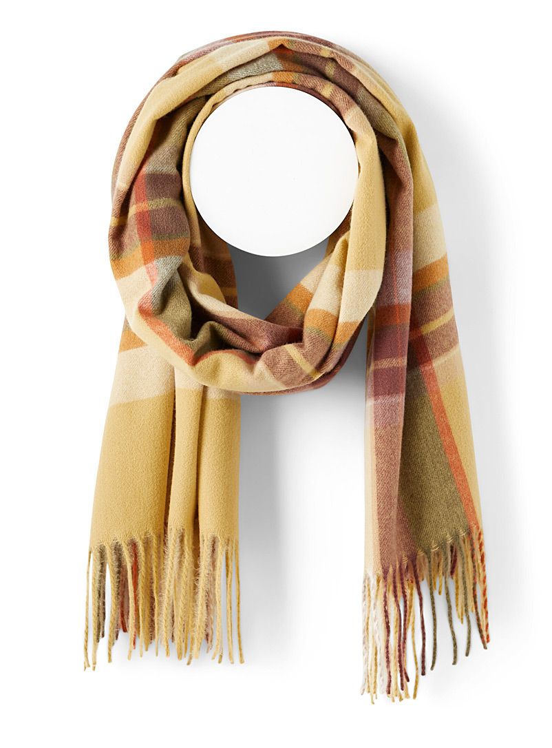 ICHI Assorted Vibrant scarf for women