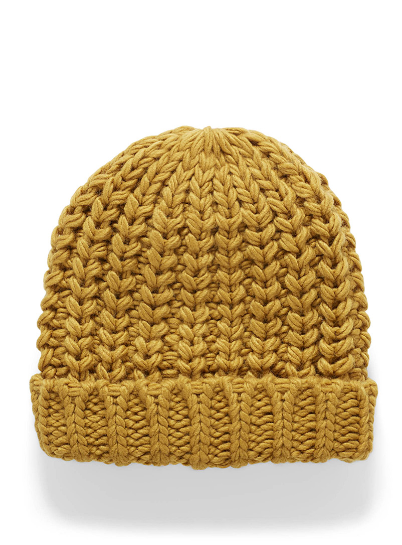 XL cable-knit tuque