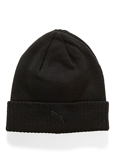 Ribbed cuff tuque