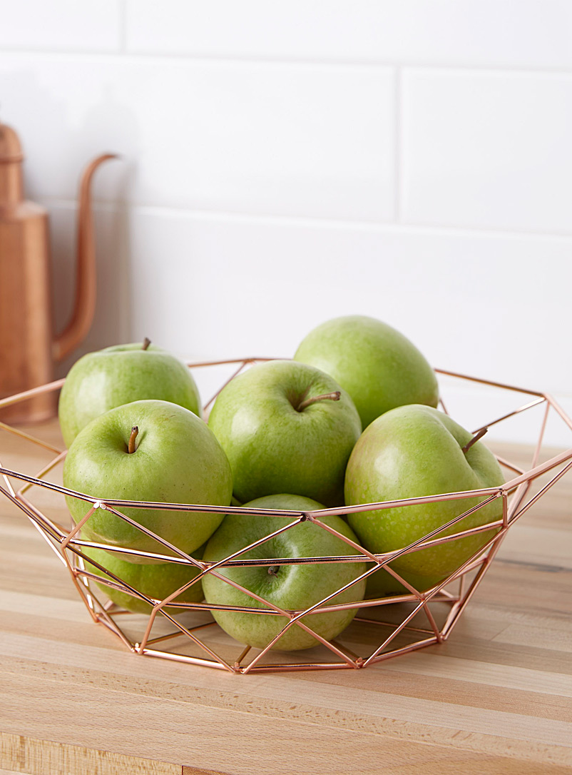 large-rose-gold-metal-fruit-basket