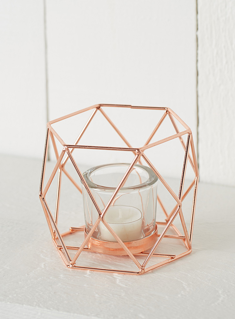 rose-gold-metal-votive
