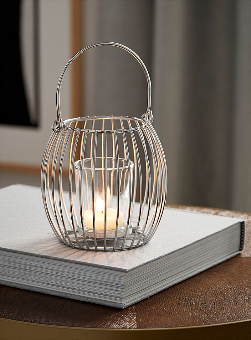 chrome-metallic-lantern