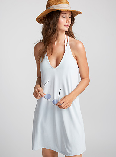 Minimalist spaghetti-strap dress
